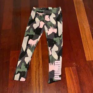 Girls puma pants